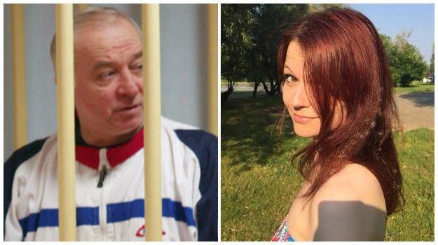 Sergei Skripal and daughter