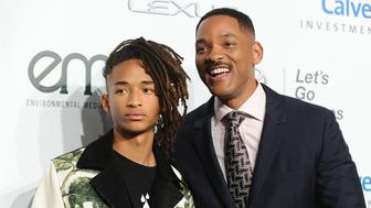 BURBANK, CA - OCTOBER 23:  Jaden Smith and Will Smith attend the 26th annual EMA Awards at Warner Bros. Studios on October 22, 2016 in Burbank, California.  (Photo by Jason LaVeris/FilmMagic)