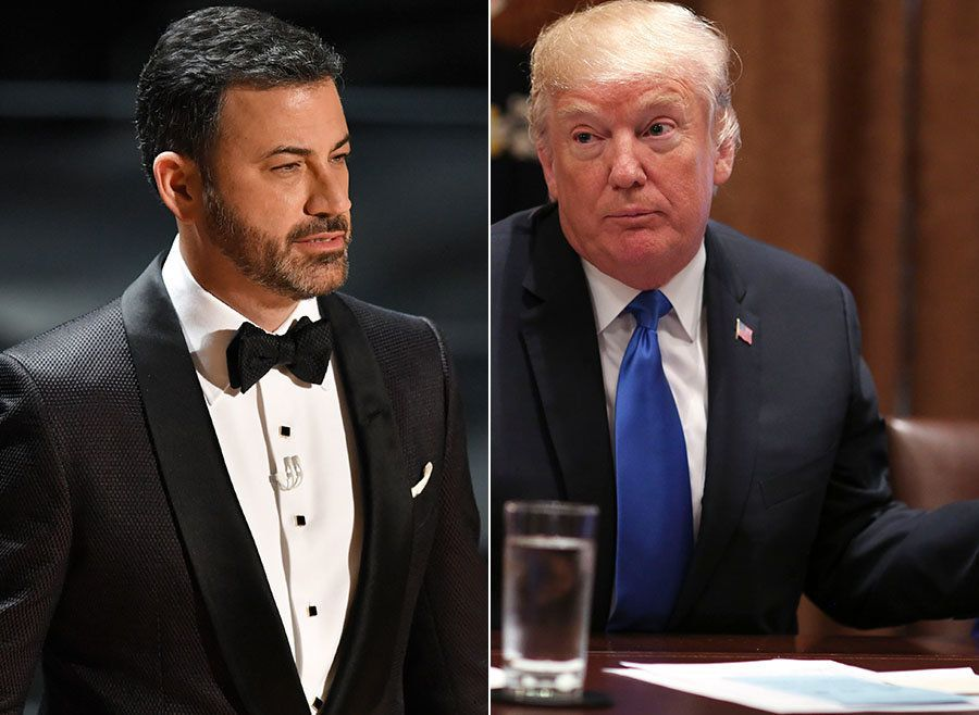 Jimmy Kimmel Puts Donald Trump In His Place Over Oscars Tweet