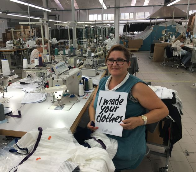 Factory JUNIUS, in Portugal, where AmaElla, one of Sheer Apparel's partner brands produces its garments.
