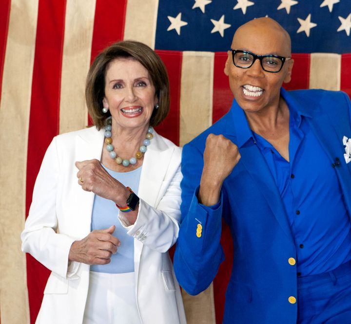 "Nancy Pelosi will be a guest judge on ""RuPaul's Drag Race."""