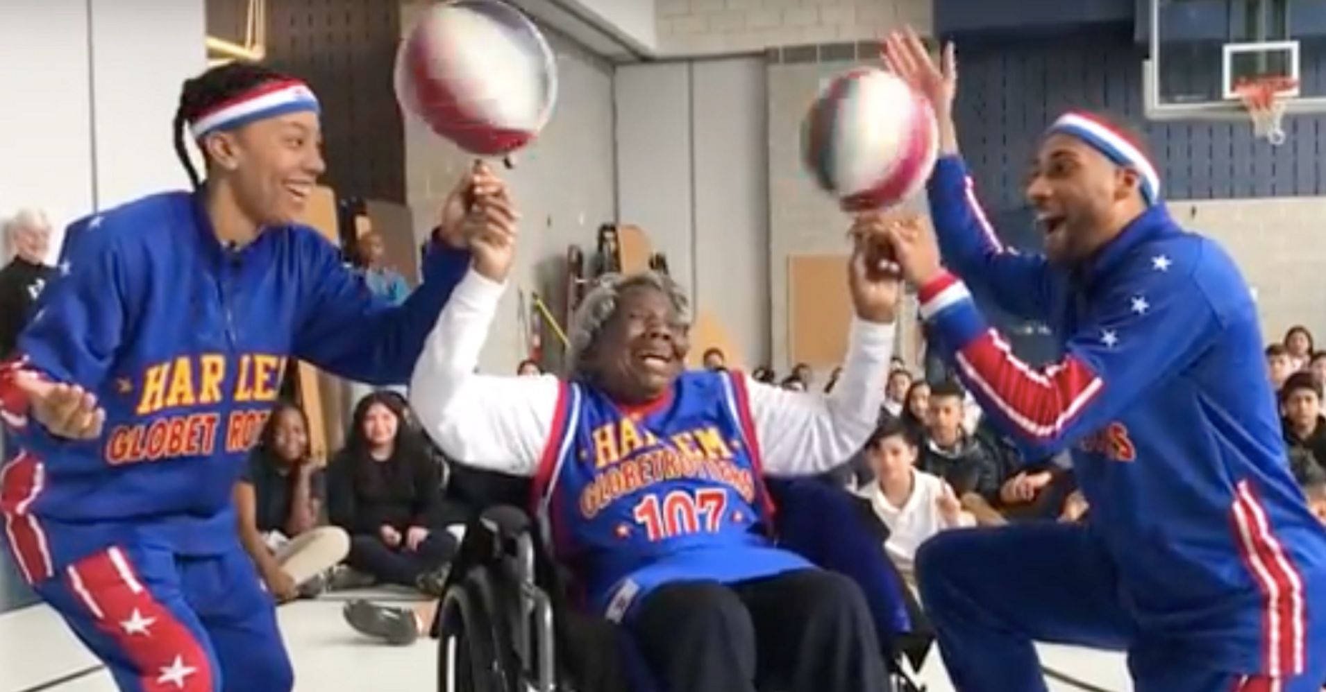 Woman Celebrates Her 109th Birthday With The Harlem ...