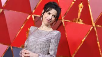 British actress Sally Hawkins arrive for the 90th Annual Academy Awards on March 4, 2018, in Hollywood, California.  / AFP PHOTO / ANGELA WEISS        (Photo credit should read ANGELA WEISS/AFP/Getty Images)