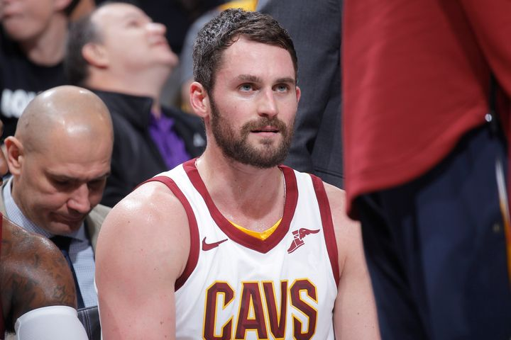 Kevin Love of the Cleveland Cavaliers wrote of his first panic attack in the middle of a basketball game -- and how the episo