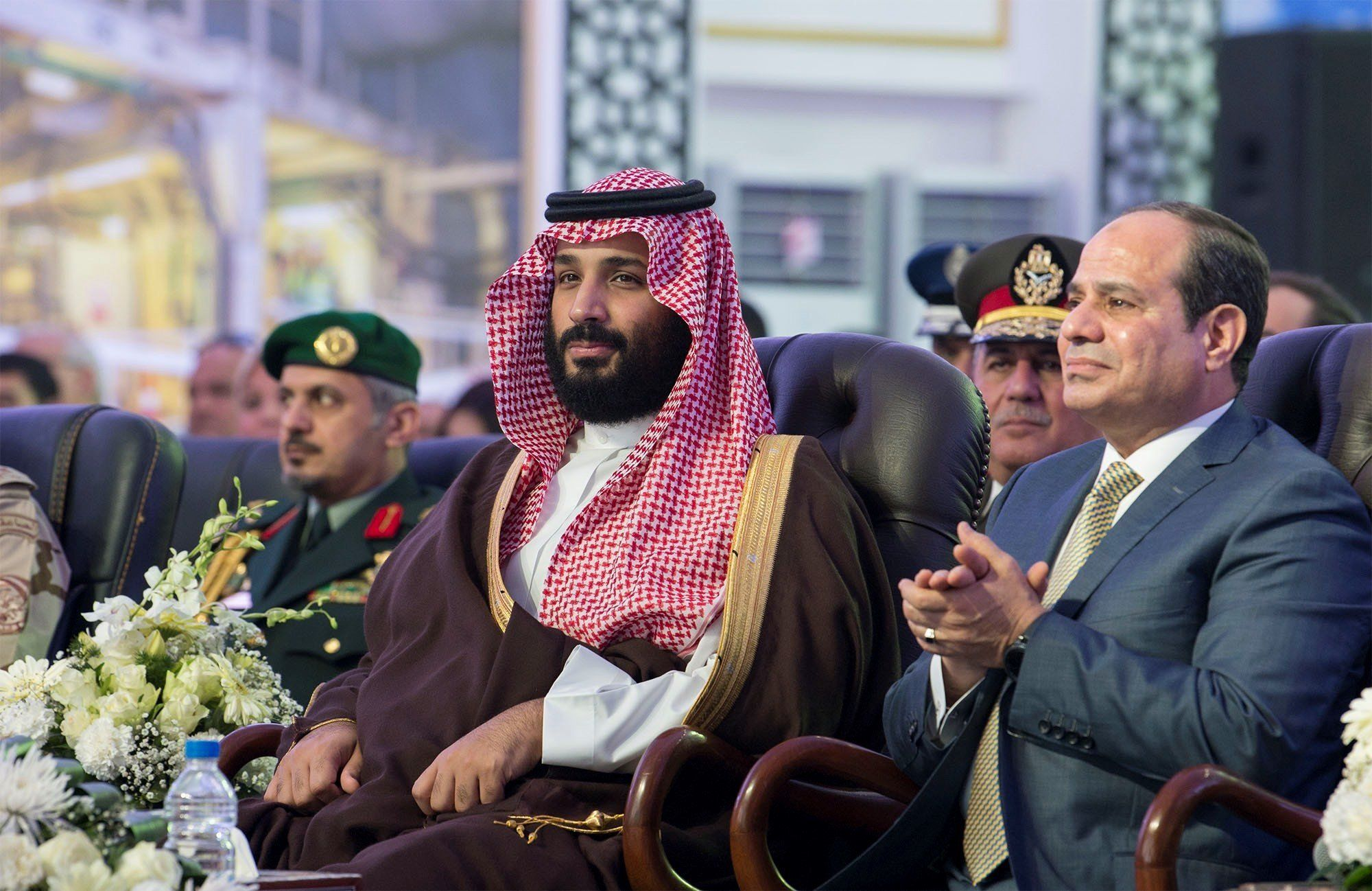Saudi Crown Prince arrives in search of investors and nuclear deal