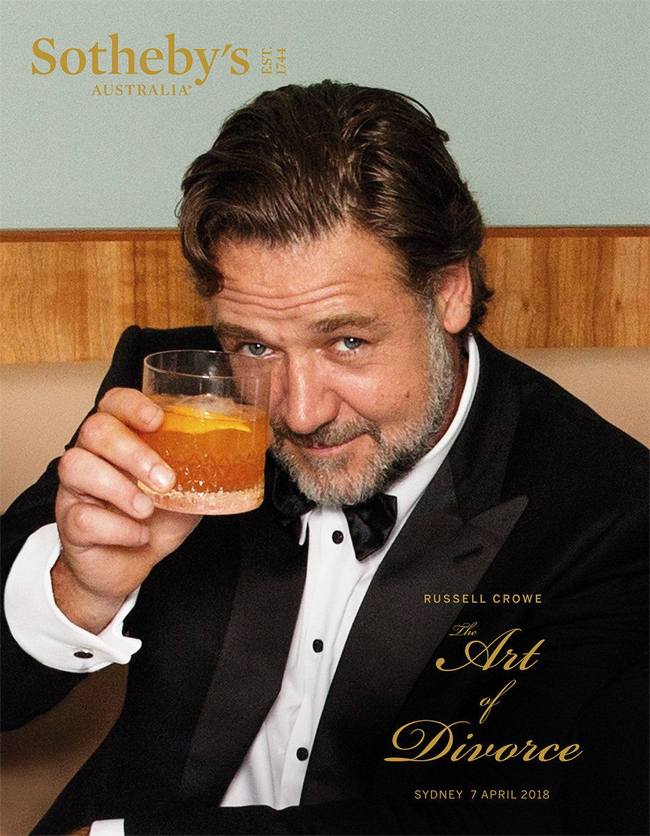 Russell Crowe Is Having A 'Divorce Auction' With Lots Of Movie