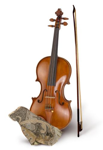 The violin from