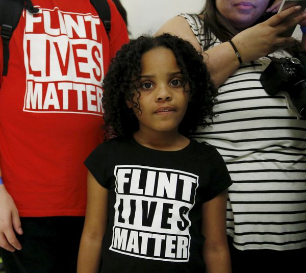 "When she was 8 years old, Amariyanna aka ""Mari"" Copeny of Flint, Michigan, <a href=""http://www.latimes.com/nation/n"