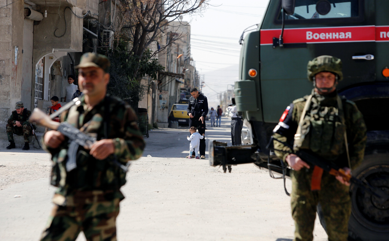 Ανατολική Γούτα: Η συριακή κυβέρνηση έστειλε ενισχύσεις, ενώ οι αντάρτες αρνούνται να