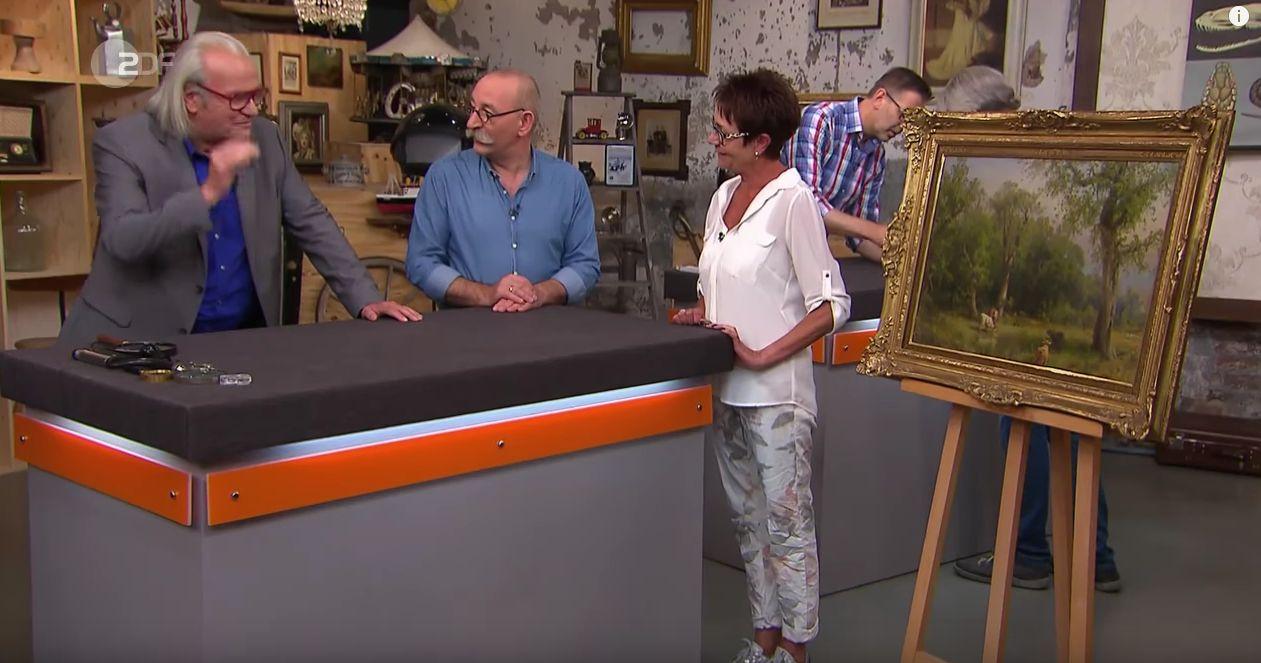 """""""Bares für Rares"""": Frau kauft Bild auf Flohmarkt – dann erfährt sie, wer der Maler war"""