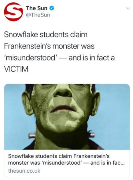 The Sun Criticised 'Snowflake' Students For Reading A Famous Book And Interpreting It