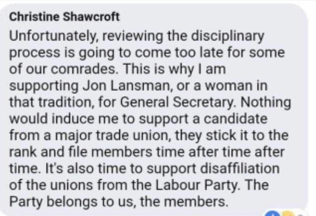 Shawcroft's Facebook