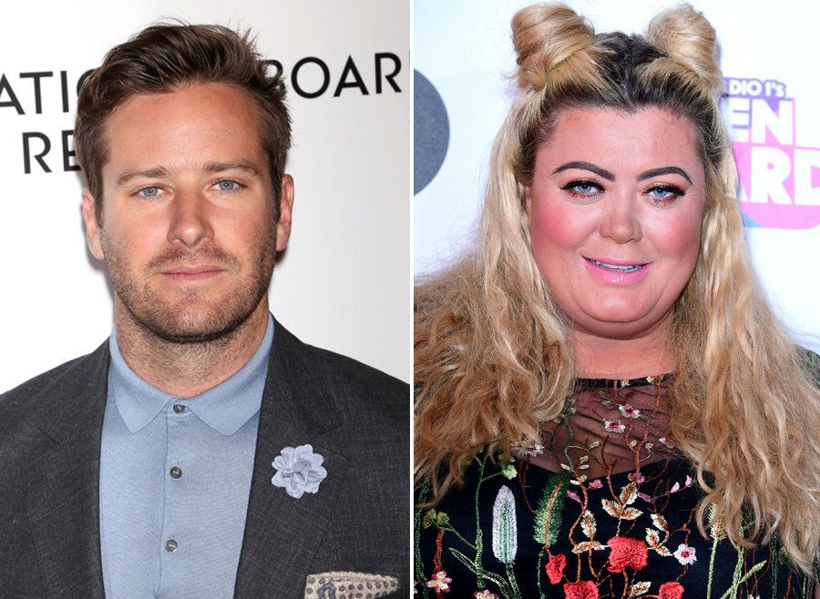 Armie Hammer Doing A Dramatic Reading Of Gemma Collins's Autobiography Isn't Something You Hear Everyday