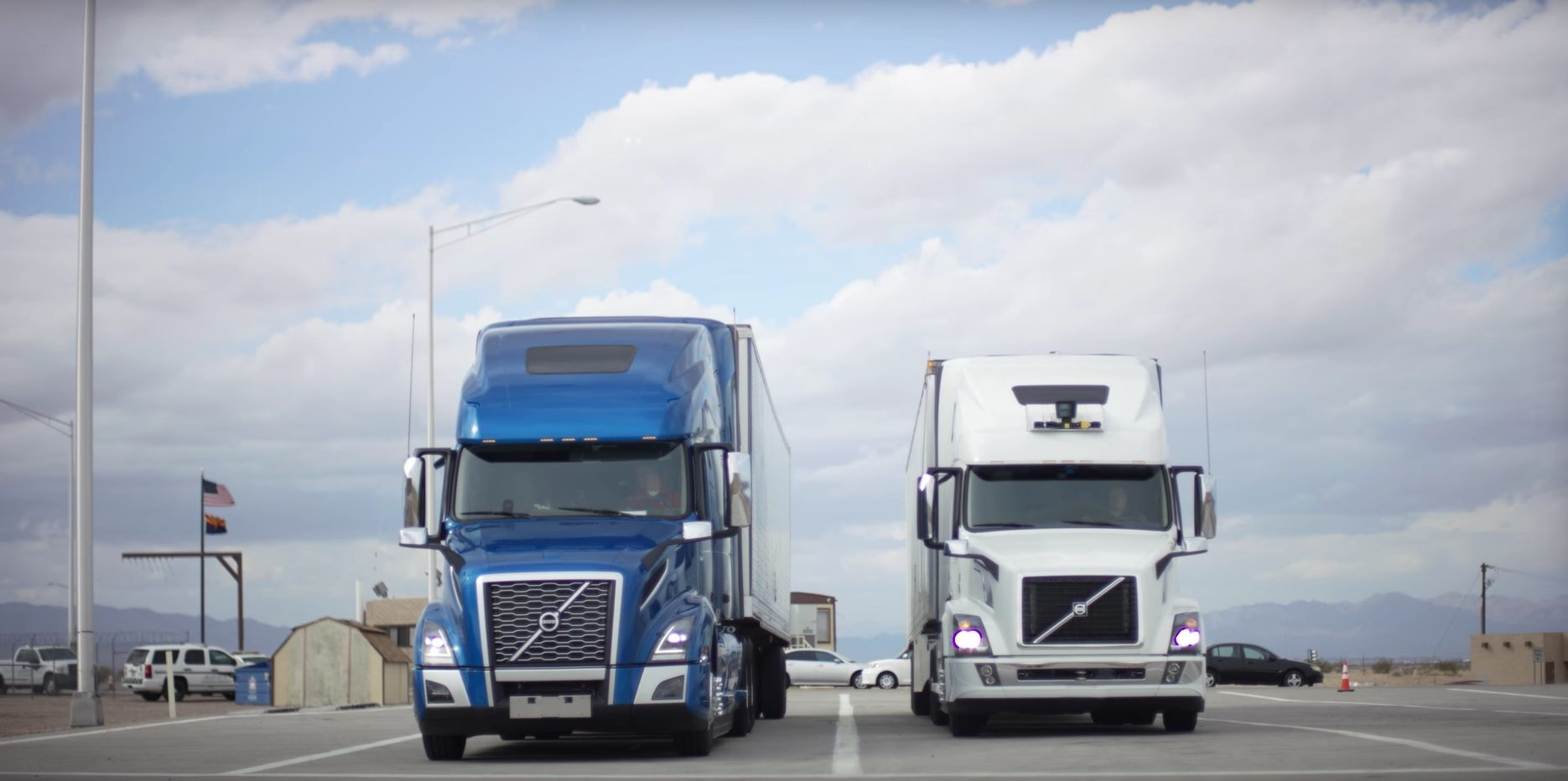 Self-Driving Lorries Are Already Making Deliveries In