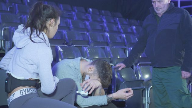 'Dancing On Ice' Favourite Jake Quickenden Suffers Injury Days Before The