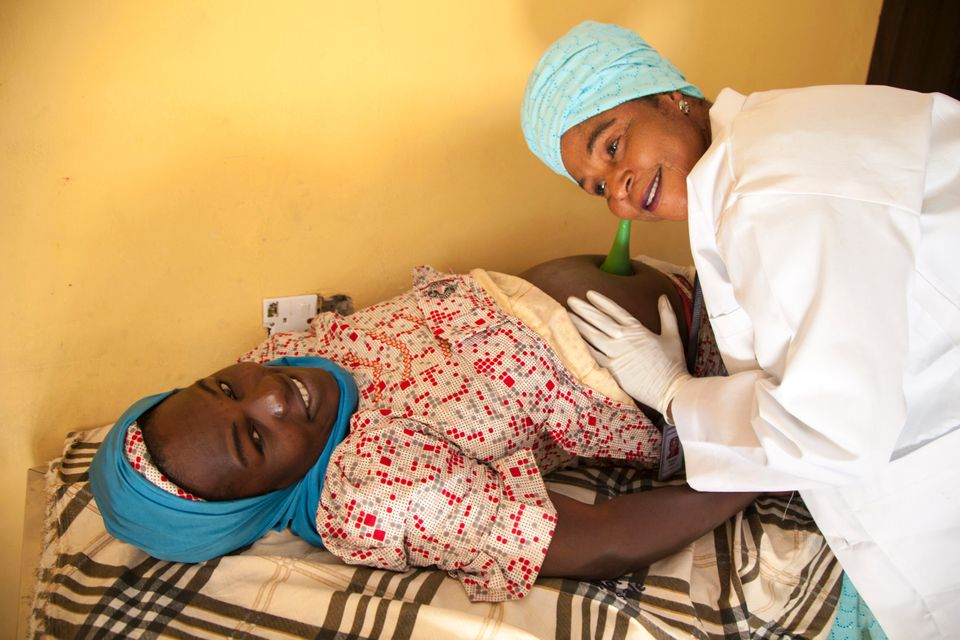 Midwives And Health Visitors Pictured In Some Of The World's Toughest Places To Give