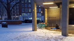Emergency Homeless Measures During Big Freeze Forced Some Onto