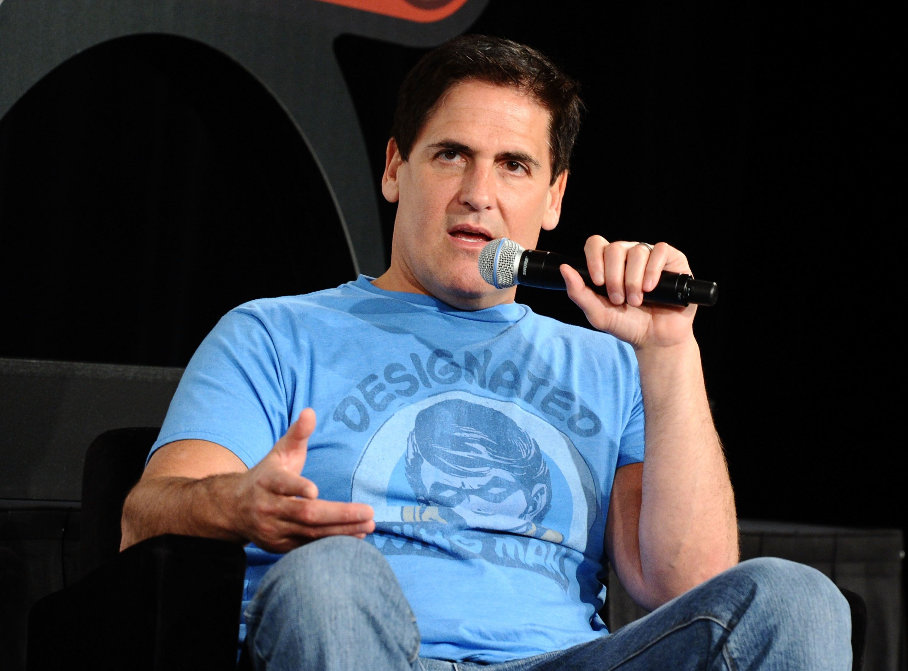 Mark Cuban is seen in April 2011, just a few weeks before an Oregon woman accused him of sexually assaulting him at a ba