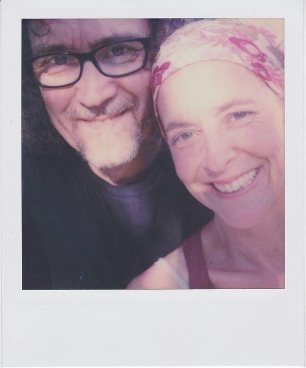 Susan with her boyfriend, Roy