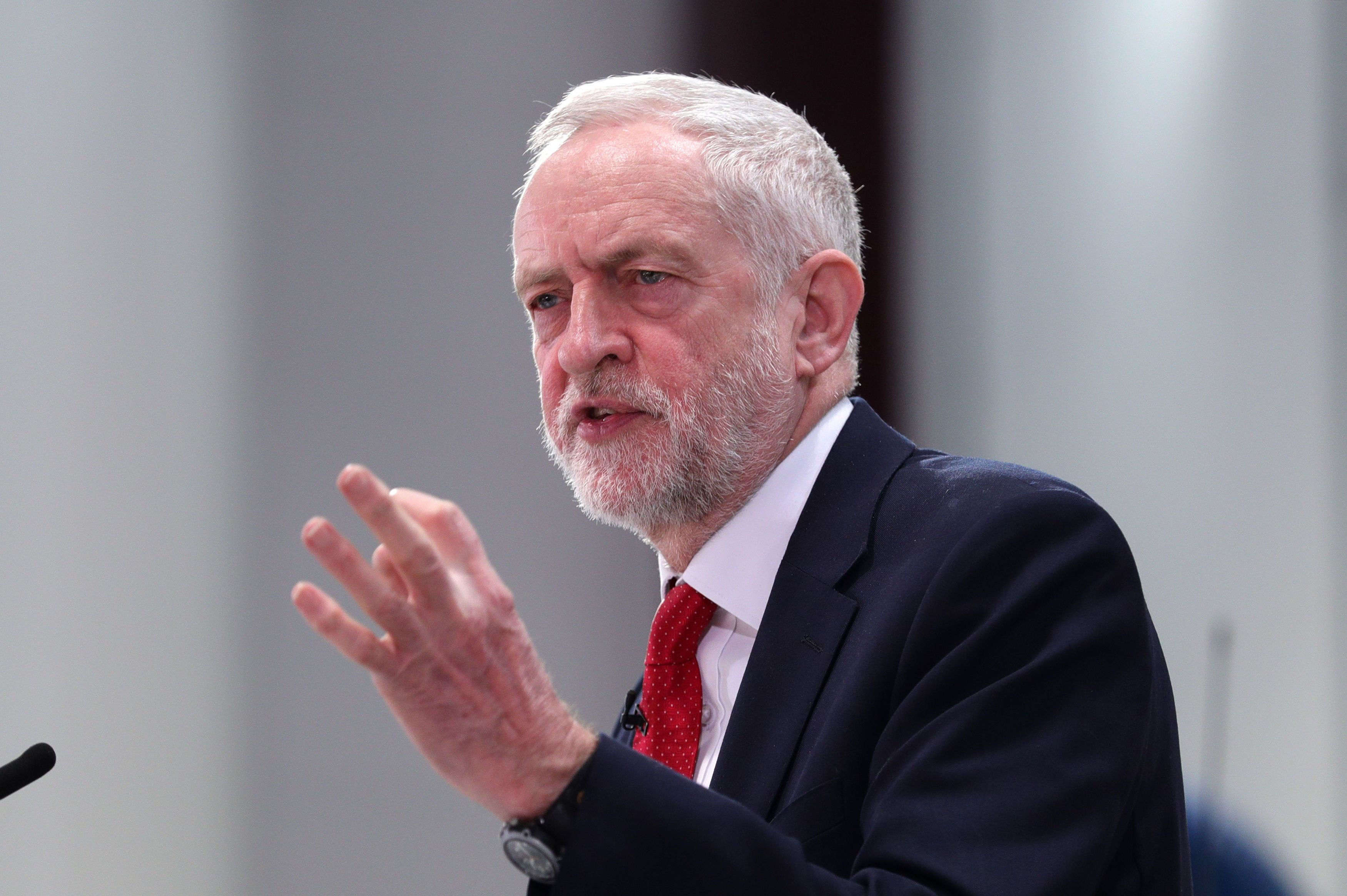British Labour Party's Jeremy Corbyn Seen in Facebook Group Rife with Anti-Semitism