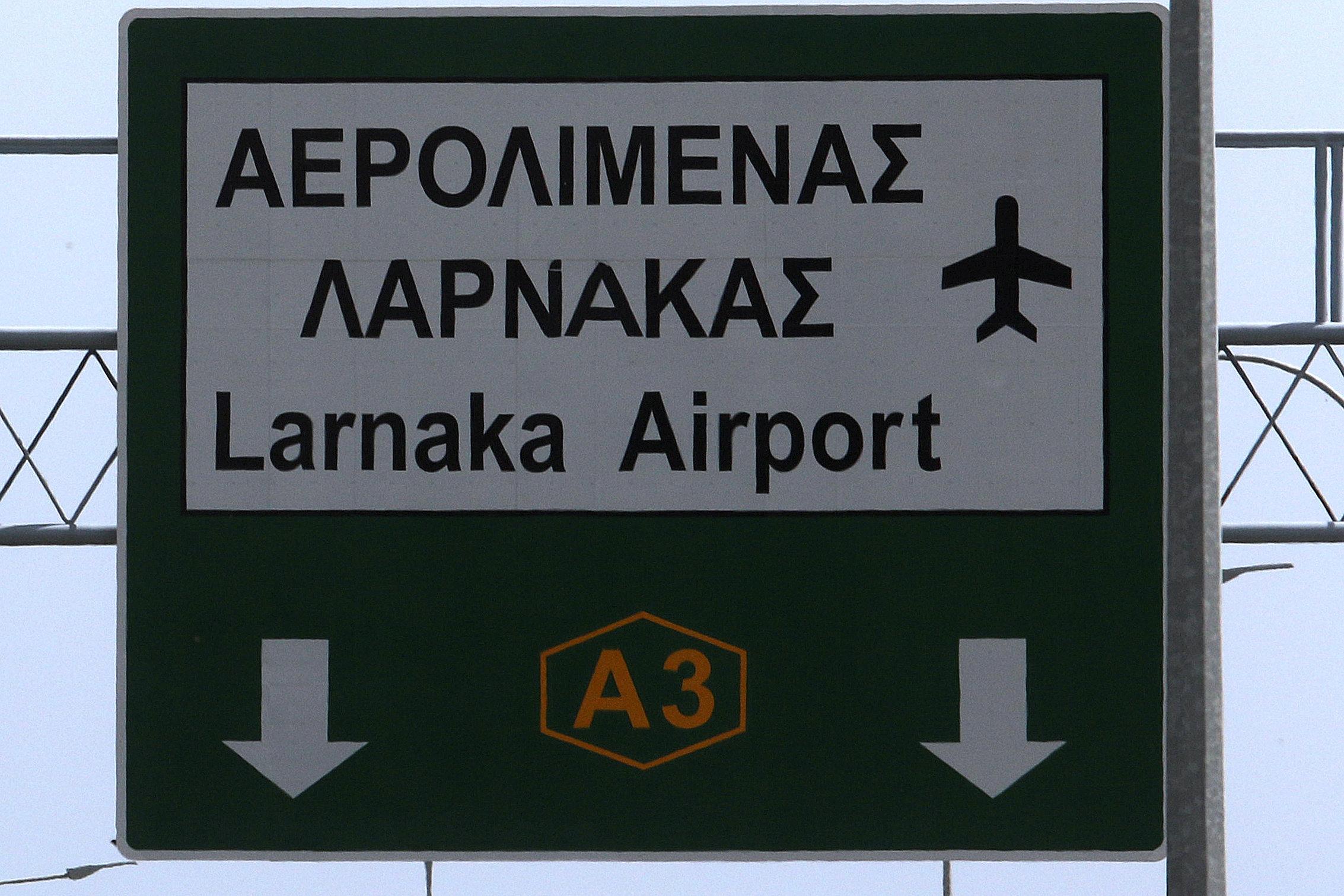 Συναγερμός στο αεροδρόμιο Λάρνακας για χτύπημα σε ρωσικό