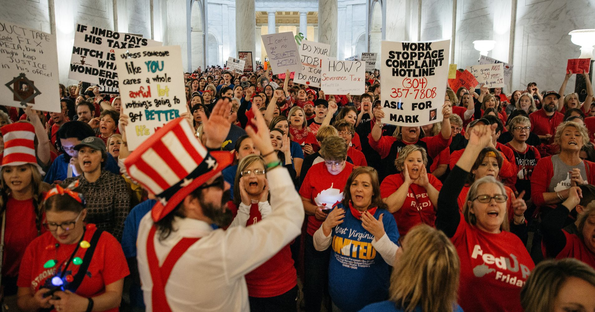 The West Virginia Teacher Strike Was Rare, Militant And Victorious