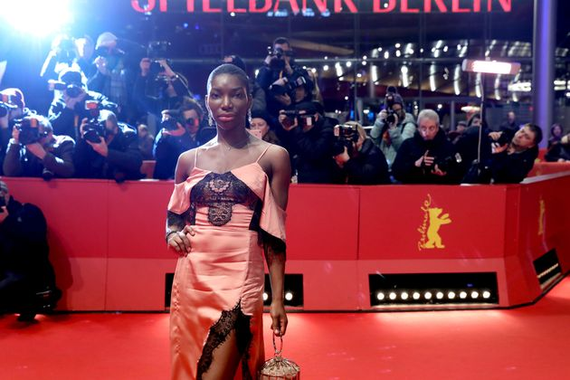 Michaela Coel, star and writer of Chewing