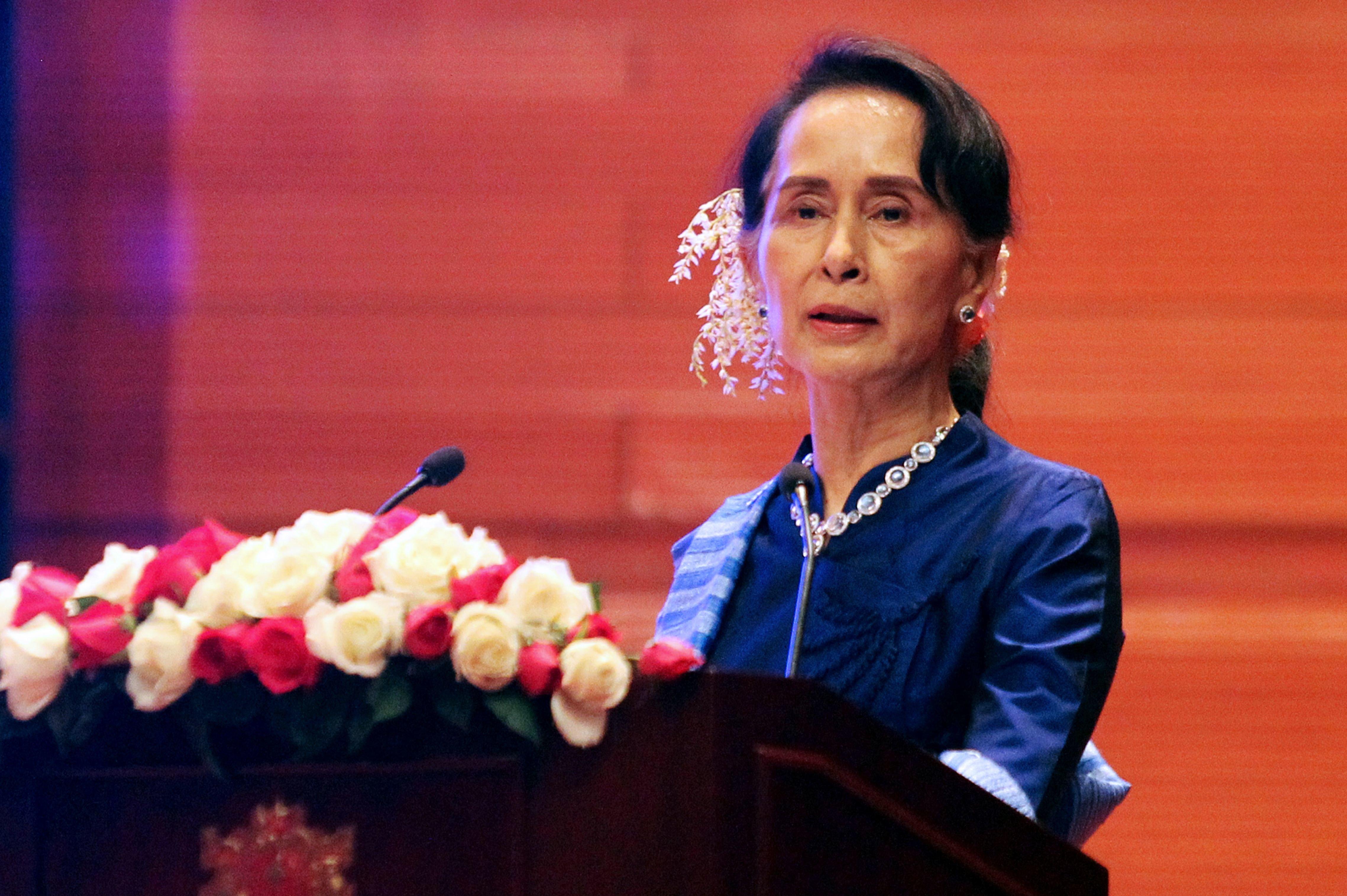 US Holocaust Museum revokes human rights award to Myanmar leader