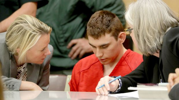 Nikolas Cruz, facing 17 charges of premeditated murder in the mass shooting  at Marjory Stoneman