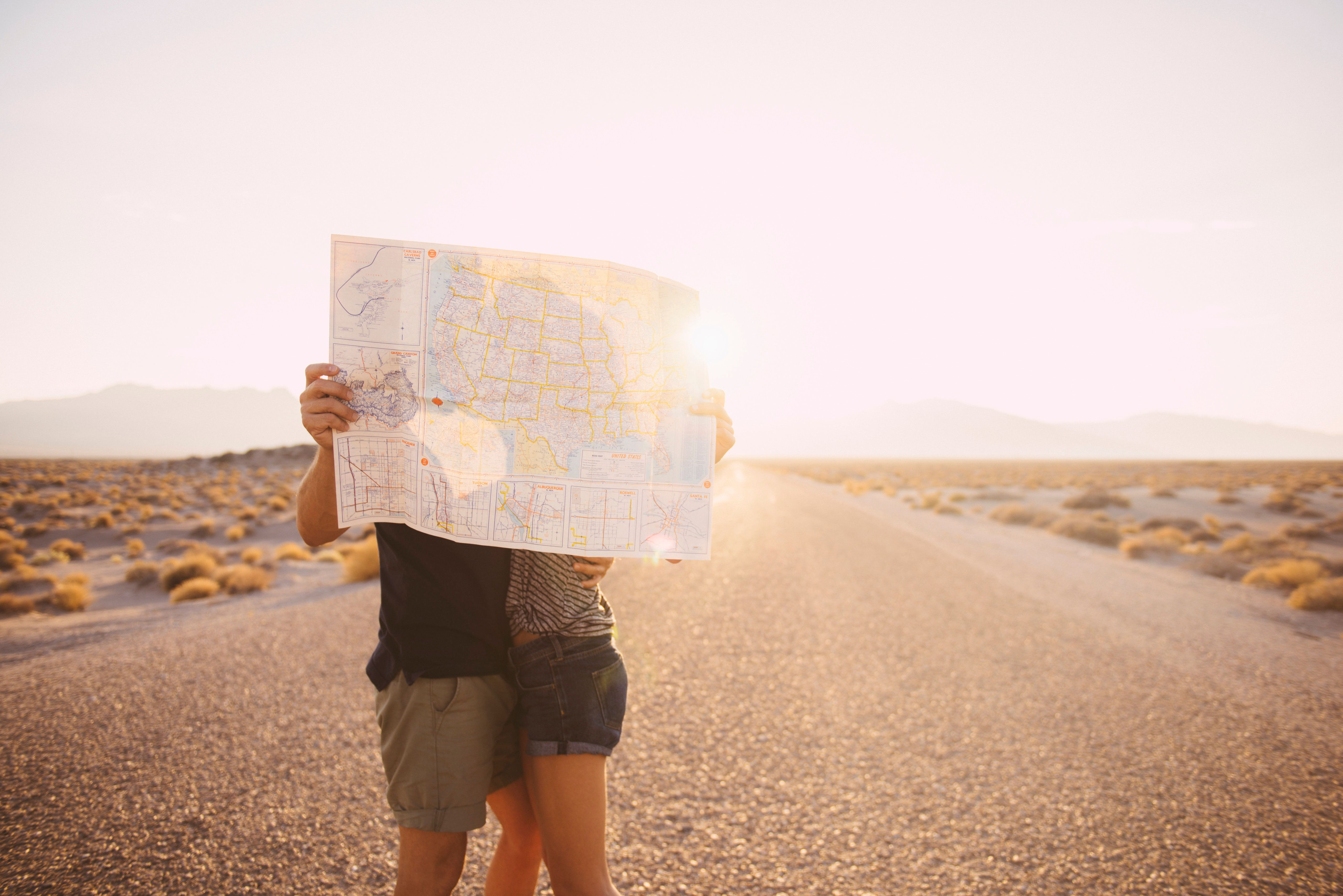 Taking on a big trip together can help you learn how your partner reacts to challenges and new environments.