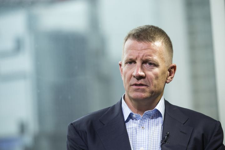 Erik Prince, the founder of Blackwater and a close associate of President Donald Trump, reportedly met with a Russian linked