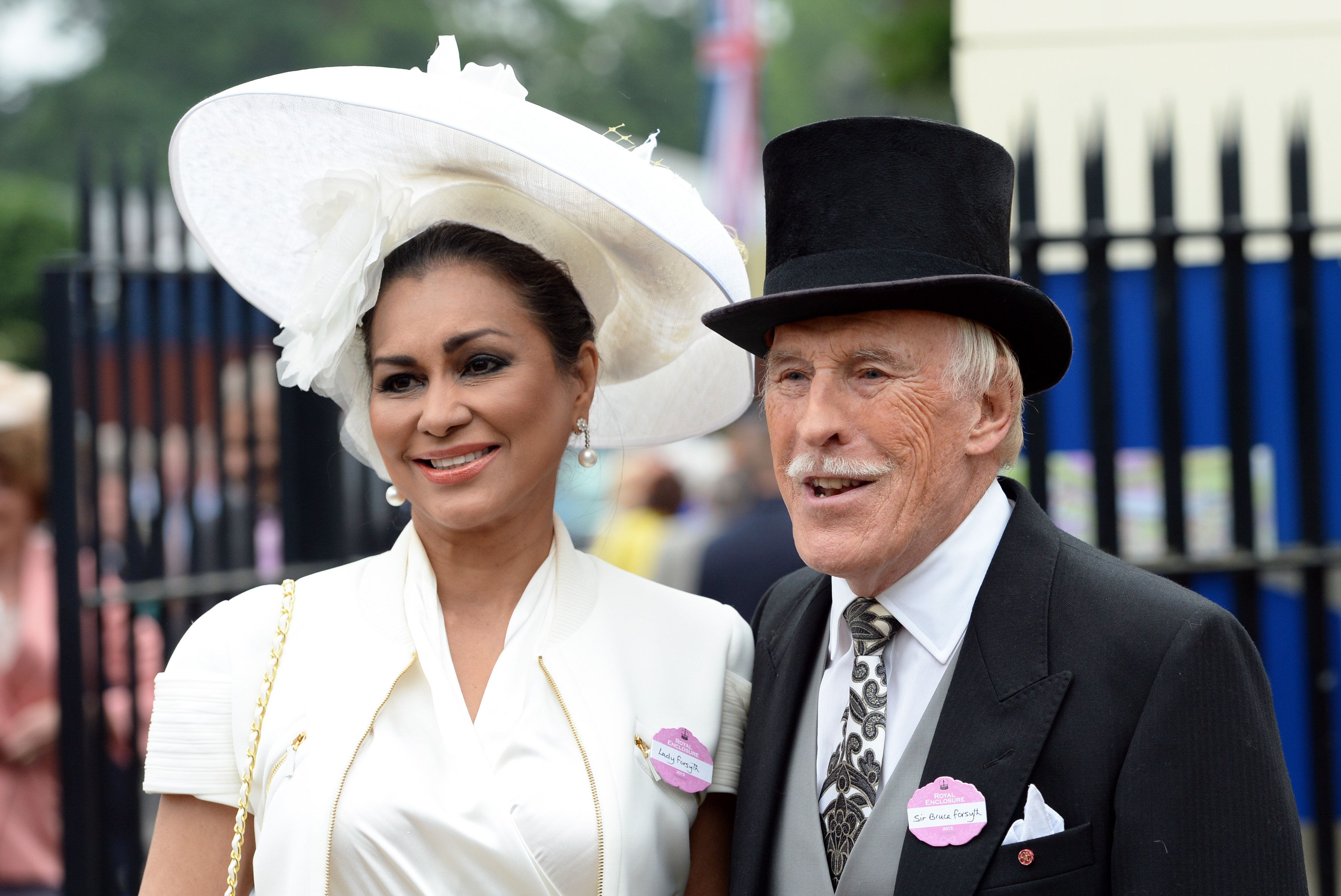 Bruce Forsyth's Widow Lady Wilnelia Lovingly Describes How She Met Late 'Strictly'