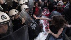 Διαμαρτυρία αστυνομικών στη Θεσσαλονίκη για επεισόδια σε συμβολαιογραφικό