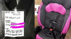 Mum Urges Parents To Make Simple Addition To Kids' Car Seats That Could Save Their