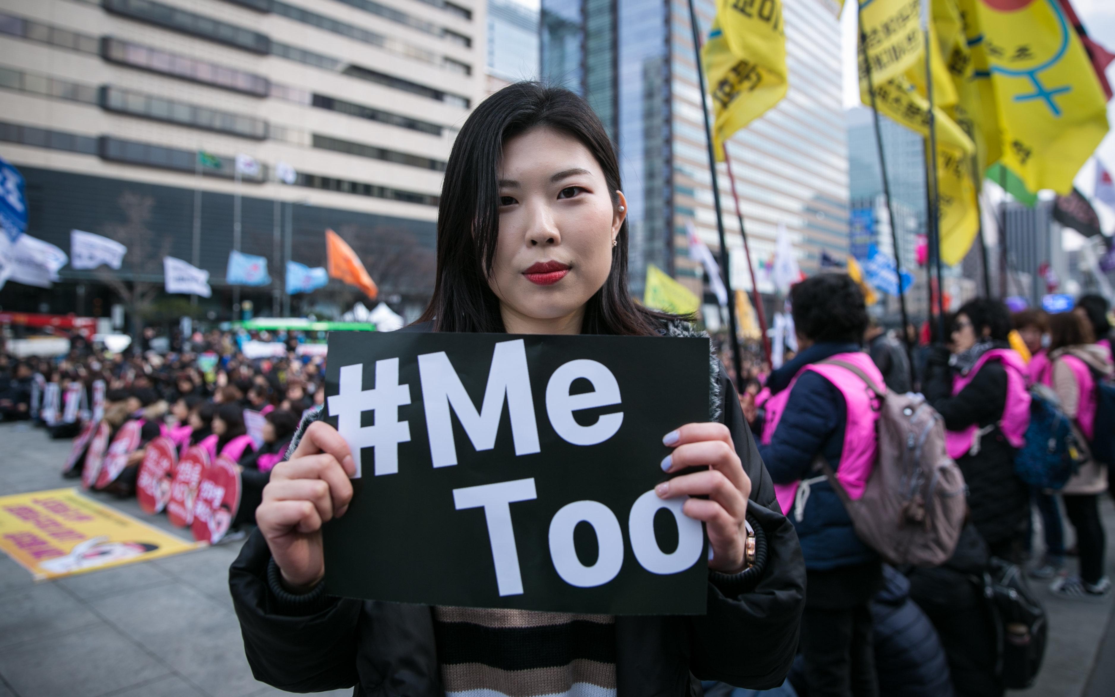 여성의 날 참가자들은