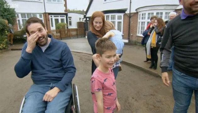 Viewers In Tears As 'DIY SOS' Rebuilds Home Of Westminster Attack