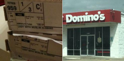 Frau bestellt Pizza bei Domino's – als sie den Kommentar auf dem Karton sieht, rastet sie aus