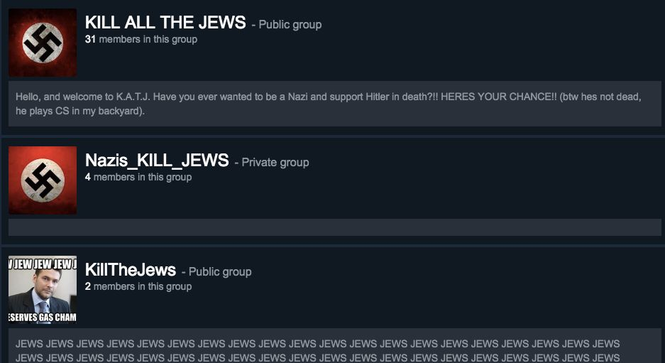 Steam, Your Kids' Favorite Video Game App, Has A Big Nazi Problem