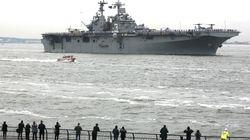 Στην κυπριακή ΑΟΖ το USS New York . Το πλοίο που φτιάχτηκε από το ατσάλι των Δίδυμων