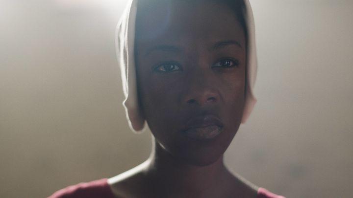 "Samira Wiley in ""The Handmaid's Tale"" Season 1."