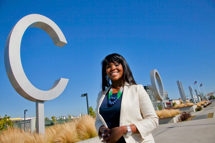 Aja Brown, Compton's youngest mayor, is running to represent California's 44th Congressional District.