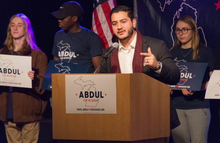 Abdul El-Sayed has laid out one of the most progressive environmental platforms in 2018.