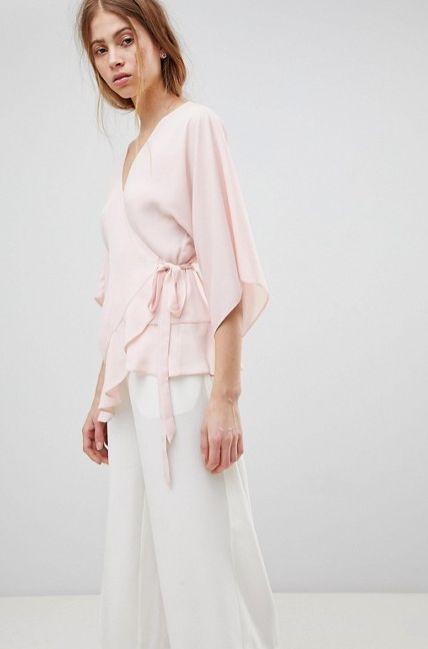 """Get it <a href=""""http://us.asos.com/asos/asos-design-wrap-top-with-kimono-sleeve/prd/9563817?clr=blush&SearchQuery=wrap%20"""