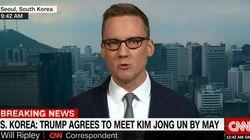 "CNN은 ""여러분은 문재인에게 경의를 표해야 한다""고 말했다"