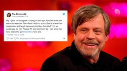 Girl Was Scared She'd Be Teased For 'Star Wars' T-Shirt, Then She Got Mark Hamill's