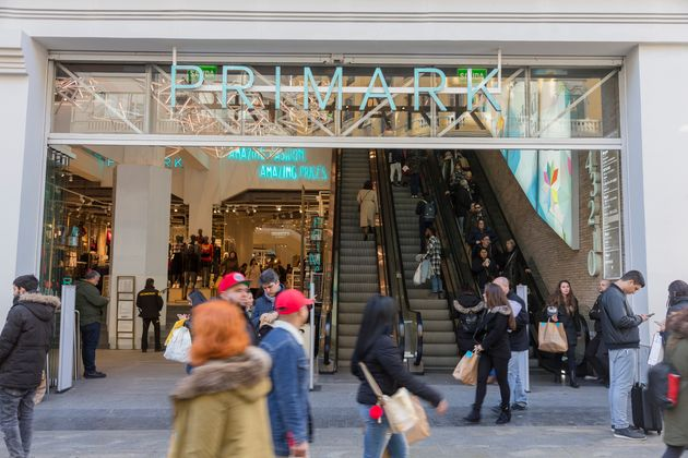 Primark in Gra Via, its largest store in Spain which is set over five