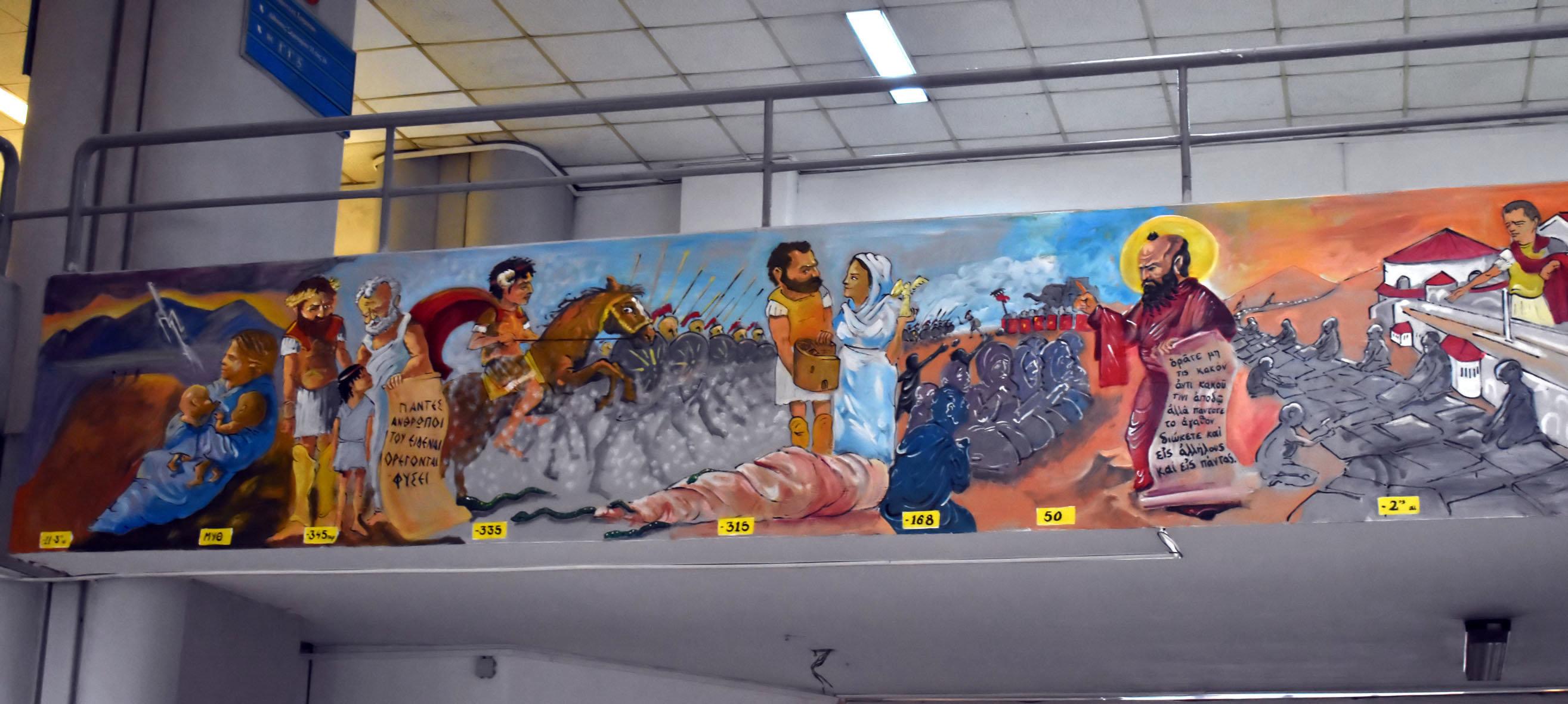 Αφισορρύπανση τέλος - πλέον μόνο τοιχογραφίες: Η απάντηση στις παρατάξεις που έδωσε το Πανεπιστήμιο