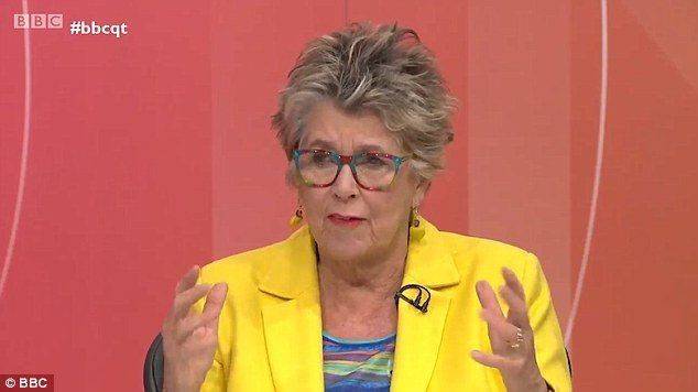Prue Leith Branded 'Heartless' Over Controversial Housing Debate On 'Question