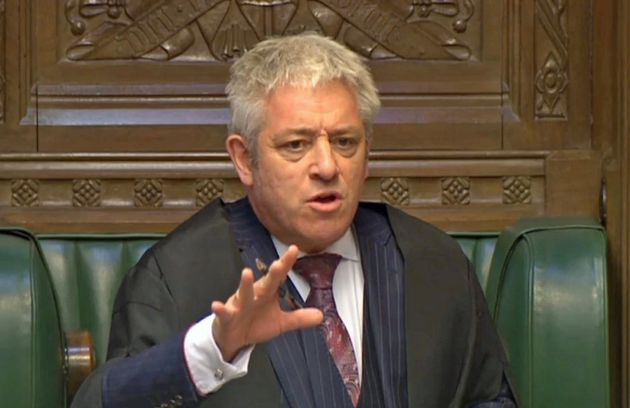 John Bercow has denied any