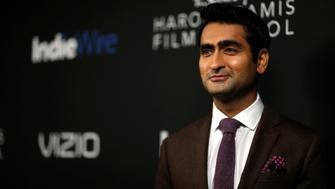 Actor and honoree Kumail Nanjiani poses at the inaugural IndieWire Honors in Los Angeles, California, U.S., November 2, 2017. REUTERS/Mario Anzuoni